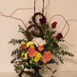 フラワーアレンジメント 11月のお花