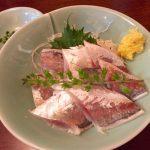 築地かとう あじ酢と甘鯛の西京焼