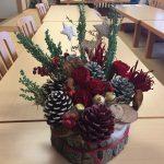 フラワーアレンジメント11月 クリスマスブッシュ